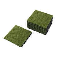 RUNNEN, плита напольная,искусственная трава