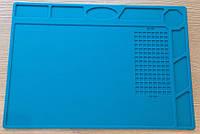 Силиконовый коврик №4 220х320 мм Blue