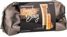 Набор Innova Glamorous Oil - Шампунь для блеска 250 мл+ Спрей бля блеска 150 мл+ Косметичка