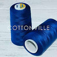 Нитки швейні 40/2 міцні (5000Y) колір королівський синій