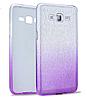 Силиконовая накладка Gliter Ambre SAMSUNG J700 (J7-2015) /J7 NEO (J701) (Violet)