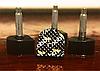 Набойки черные на штыре «Cobby» 10x10мм, штырь 2,5мм, фото 5