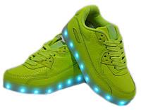 Детские LED кроссовки для девочки Clibee Польша размеры 29-35