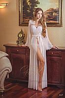 🔥 Вау! Свадебное Будуарное платье с Длинными рукавами №17