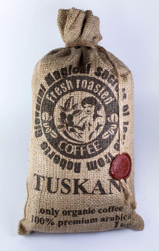 Итальянский кофе в зернах, 100% премиум арабика TUSKANI