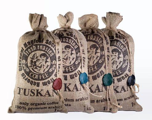Итальянский кофе в зернах, 100% премиум арабика TUSKANI, фото 2