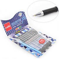 "Ручка шар/масл ""Maxriter XS"" черная 0,7 мм ""CELLO"""