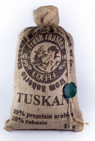Итальянский кофе в зернах, 80% премиум арабика 20% робуста TUSKANI, фото 2