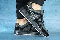 Кроссовки мужские Nike 10627_1, джинс, размеры 40,41,42,43,44,45