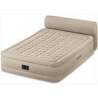 Двоспальне надувне ліжко зі спинкою INTEX 64460