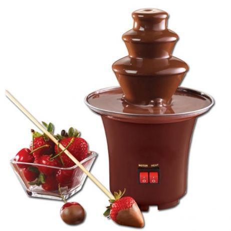Шоколадний Фонтан Chocolate Fondue Fountain Mini фондю для будинку