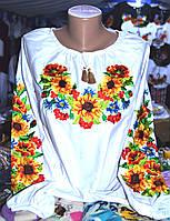 """Сорочка з вишивкою """"Соняшники"""""""