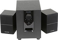 Колонки 2.1 Microlab M-106 Black / Sub: 10Вт, Sat: 2x2.5Вт / 40-18 000Hz / МДФ / RCA / управление спереди