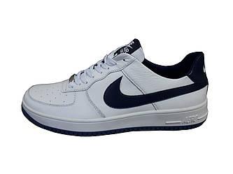 Мужские кроссовки Nike Force  белый(кожа)