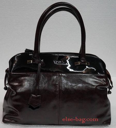 Женская сумка саквояж с кокеткой  продажа, цена в Харькове. женские сумочки  и клатчи от