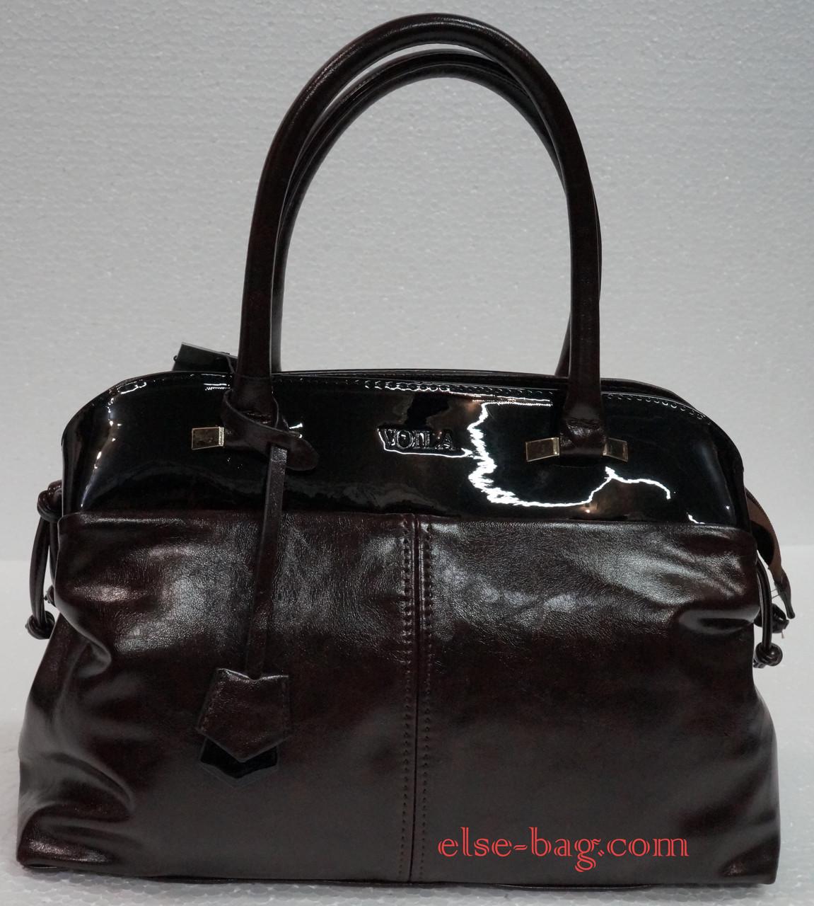0a43a89fc86c Женская сумка саквояж с кокеткой -