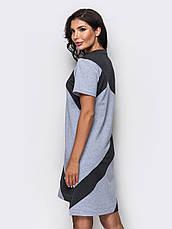 Стильне трикотажне плаття, фото 3