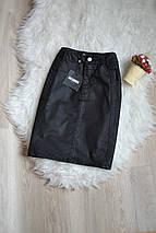 Новая джинсовая юбка с пропиткой Missguided, фото 3