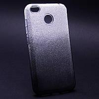 Силиконовая накладка Gliter Ambre Xiaomi Redmi 4X (Grey)
