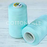 Нитки швейные 40/2 прочные (5000Y) цвет мятный, фото 1