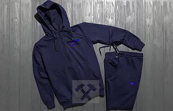 Спортивный костюм Reebok синего цвета