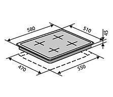 Комбінована поверхня Ventolux HG 622 B2 (X), фото 3