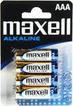 ААА Maxell Alkaline 4 in BLISTER LR03