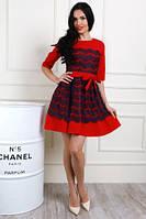 Платья женское стильное с красивым бантиком