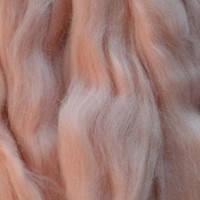 Шерсть для валяния меринос Розовый светлый 443 50гр.