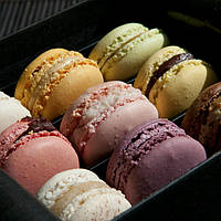 Макаронс, французский десерт Белковые сладости