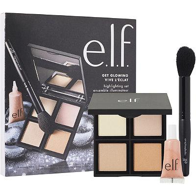 e.l.f. Studio Get Glowing Kit Highlighting Set
