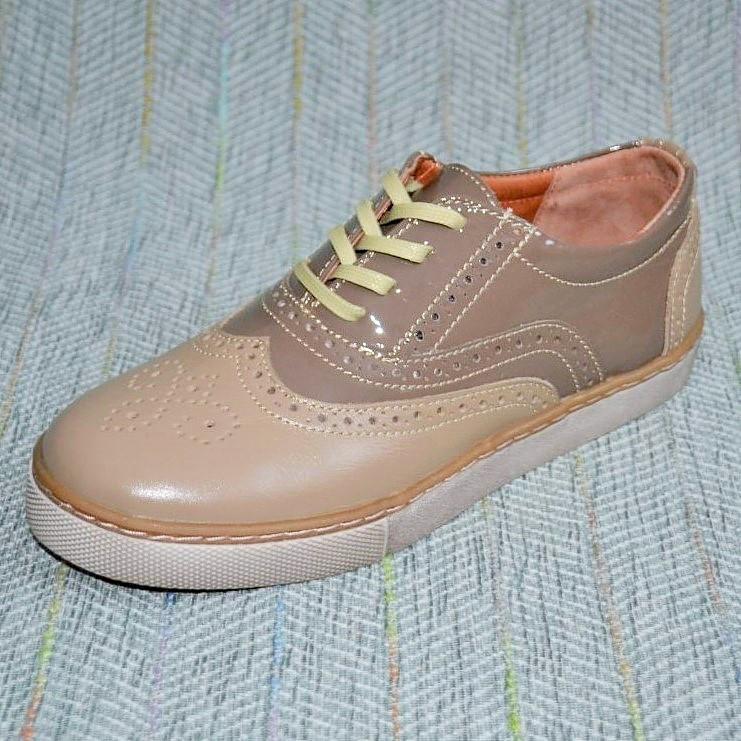 Весенние туфли на девочку, Broni размер 34 35 36