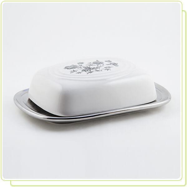 Маслёнка  керамическая