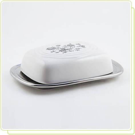 Маслёнка  керамическая, фото 2