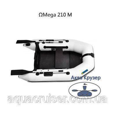 Моторные надувные лодки из ПВХ  - Купить моторную лодку в Украине - надувная лодка ПВХ под мотор для одного человека - маленькая моторная лодка 210 - небольшая моторная лодка цена - магазин лодок Аква Крузер