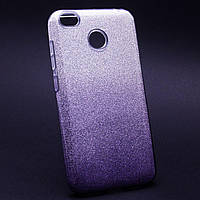 Силиконовая накладка Gliter Ambre Xiaomi Redmi Note 5A / Redmi Y1 Lite (Violet)