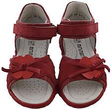 Детские ортопедические Босоножки Minimen 76TSVETOK р. 25, 26, 27, 28, 29, 30 Красный, фото 3