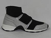Туфли женские  Chanel серебро