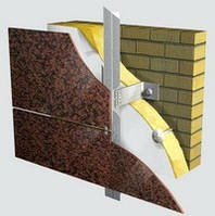Система навески вентилируемого фасада