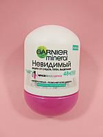 Garnier - Антиперспирант Mineral Невидимый (Прикосновение свежести) роликовый 50 мл