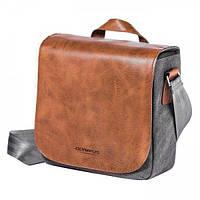 Сумка для фотоаппарата OLYMPUS OM-D Mini Messenger Bag Leather E0410263