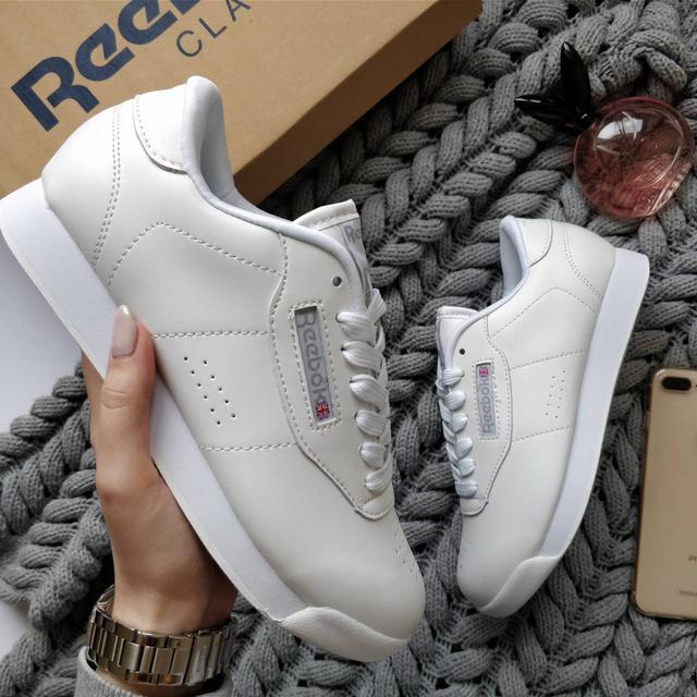 f237b1914479 Женские кроссовки Reebok Classic All White (Рибок Класик) белые