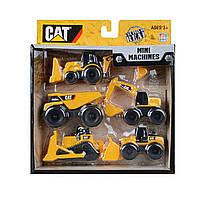 Набор машинок Строительная техника CAT Toy State Caterpillar Construction