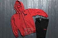 Спортивный костюм Tapout красного цвета и черного цвета