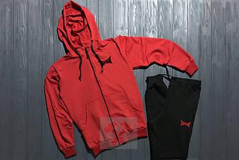 Спортивный костюм Tapout красного цвета и черного цвета (люкс копия)