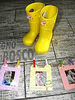Сапоги детские под дождь пена Эва