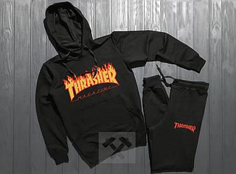 Спортивный костюм Thrasher черного цвета
