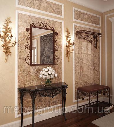 Комплект Річмонд (Пуф+вішалка+дзеркало), фото 2