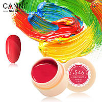 Гель-краска Canni  546 яркая красно-розовая 5ml