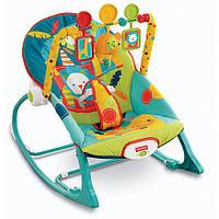 Массажное кресло-качалка Fisher-Price Сафари